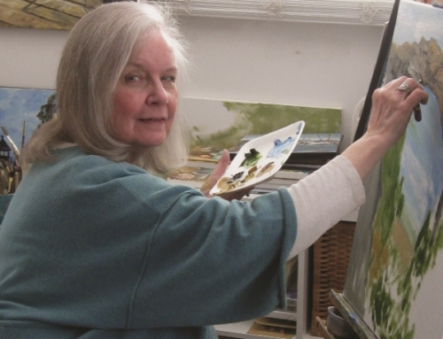 Painter Sandi Hammerstrom Oliverio captures Michigan on canvas