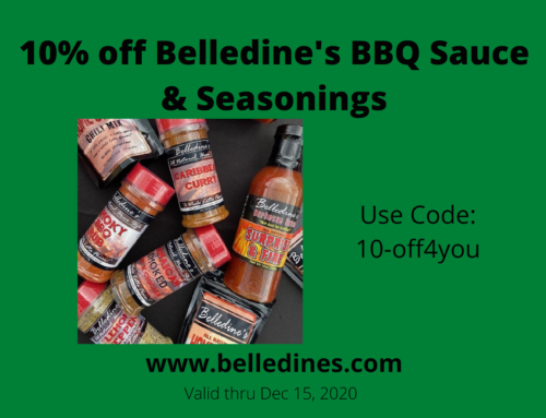 Belledines BBQ Sauce and Seasonings