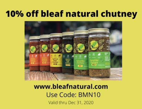 Bleaf Natural Chutneys