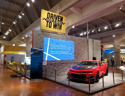 Race to Henry Ford Museum's new Driving to Win exhibit