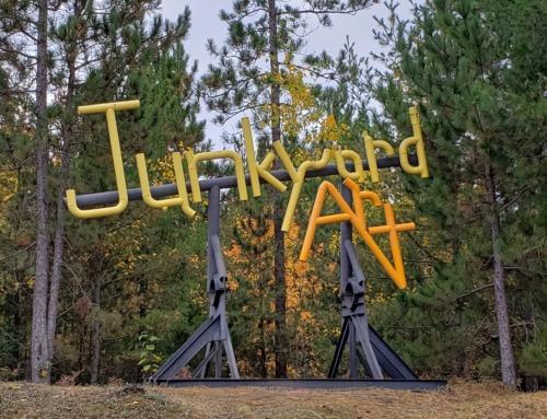 Don't miss Marquette's unique junkyard art park